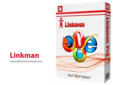 Linkman نرم افزار مدیریت بوکمارک Outertech Linkman Lite 8 9 2 5