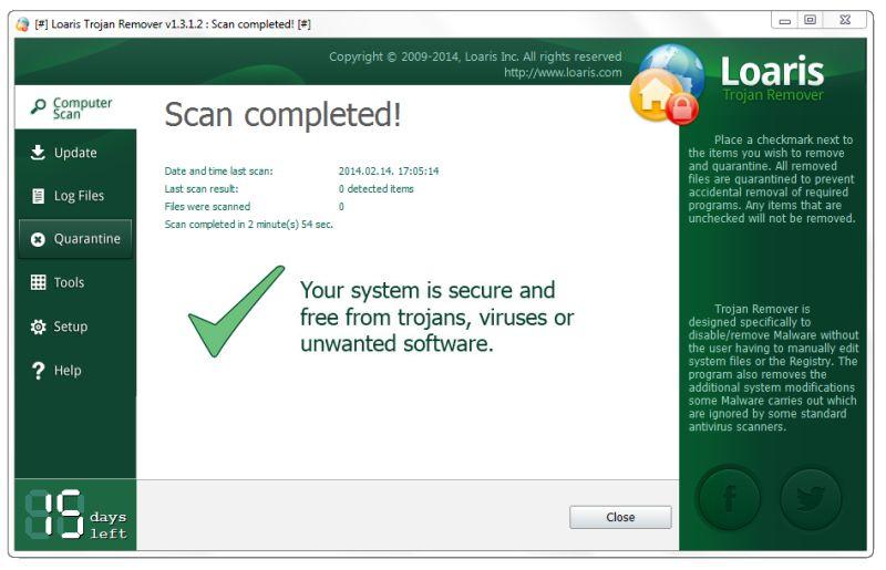 Loaris Trojan Remover4 دانلود Loaris Trojan Remover 2.0.44.128 نرم افزار حذف تروجان