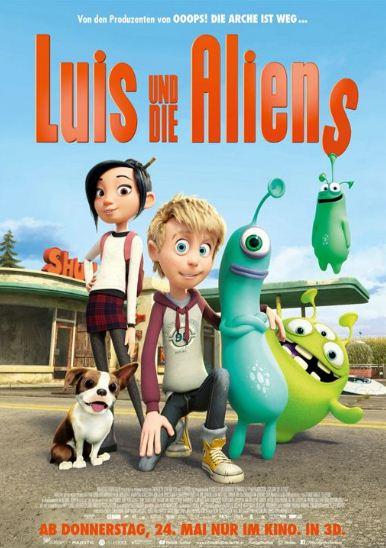 Luis The Aliens 2018 1 دانلود دوبله فارسی انیمیشن Luis and The Aliens 2018