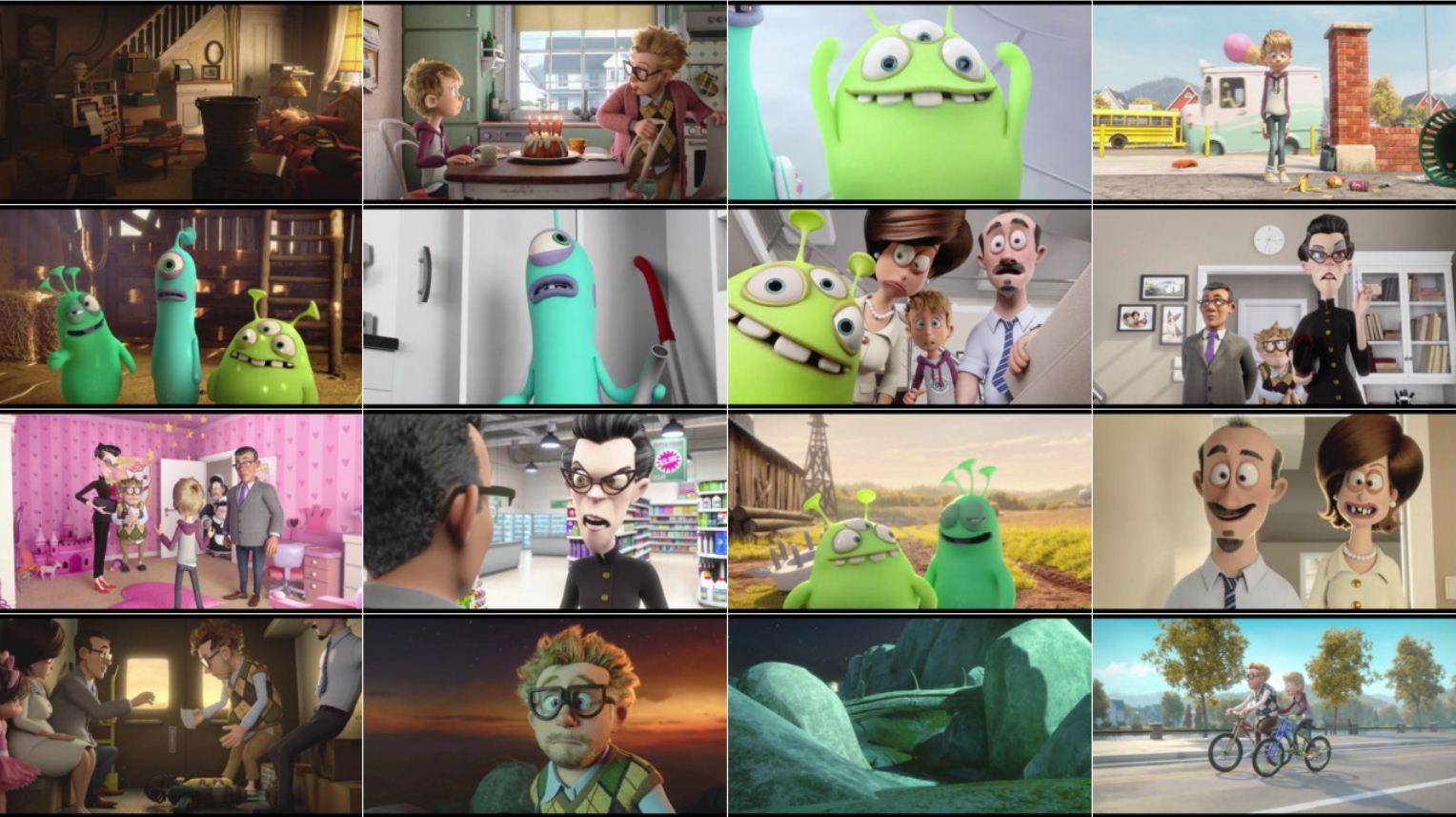 Luis The Aliens 2018 2 دانلود دوبله فارسی انیمیشن Luis and The Aliens 2018