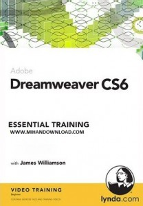 Lynda Dreamweaver CS6 Essential 208x300 دانلود فیلم آموزش طراحی وب با Dreamweaver CS6
