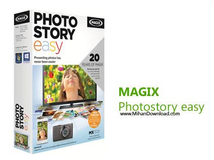 MAGIX Photostory easy دانلود نرم افزار ساخته یا ایجاد اسلاید شو MAGIX Photostory Easy v2.0.1.54
