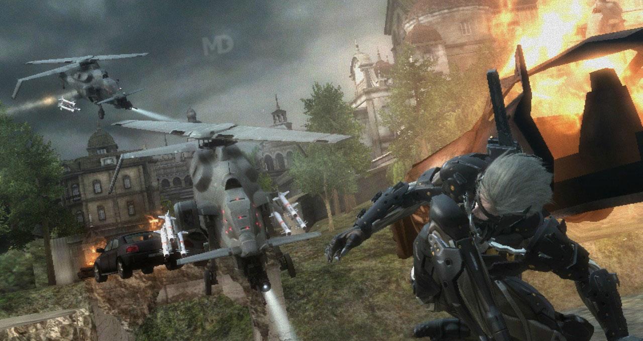 MGR screenshots2 دانلود بازی Metal Gear Rising برای کامپیوتر