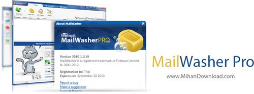 MailWasher Pro نرم افزار امنیت ایمیل در برابر اسپم ها MailWasher Pro v7 2 0