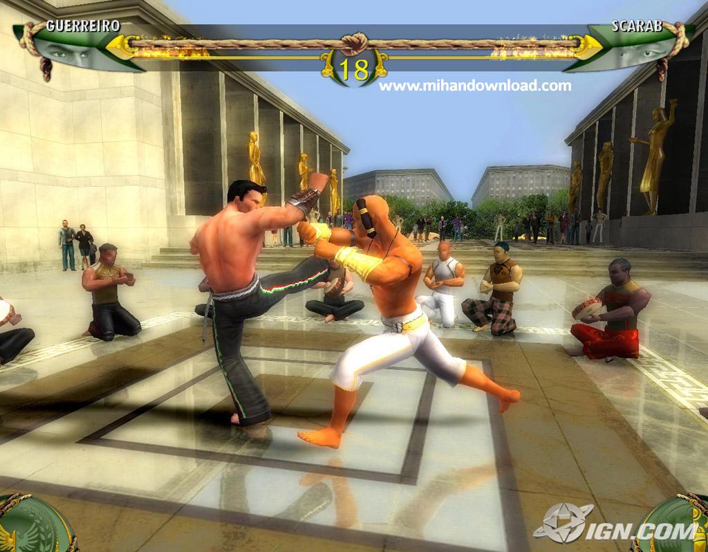Martial Arts Capoeira screen دانلود بازی Martial Arts Capoeira برای کامپیوتر