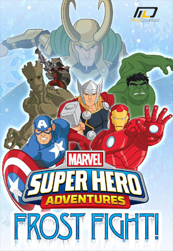 Marvel Super Hero2016 دانلود انیمیشن 2015 Marvel Super Hero Adventures Frost Fight