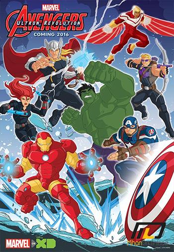 Marvels Avengers Ultron Revolution 2016 دانلود فصل سوم انیمیشن Marvels Avengers Ultron Revolution 2016 گردآوری انتقام جویان