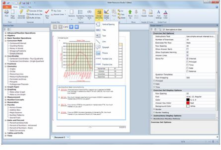 Math Resource Studio دانلود نرم افزار حل معادلات ریاضی Math Resource Studio 6.1.2.1
