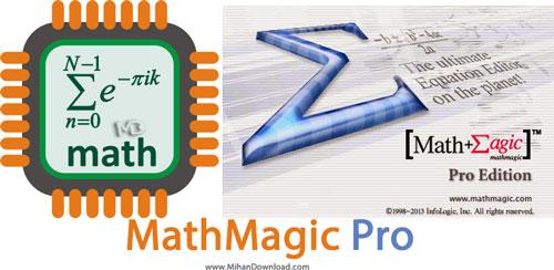 MathMagic Pro نرم افزار ایجاد فرمول های ریاضی MathMagic Pro Edition v7 5 6 82