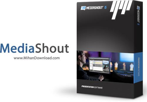 MediaShout دانلود نرم افزار قدرتمند ارائه ورشیپ و مدیا MediaShout v5 0 0 54