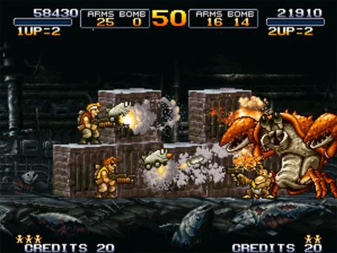 Metal Slug 3 4 دانلود بازی قدیمی Metal Slug 3