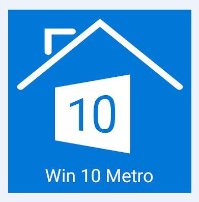 Metro Style Win 10 Launcher 1 دانلود لانچر ویندوز 10 برای آندروید
