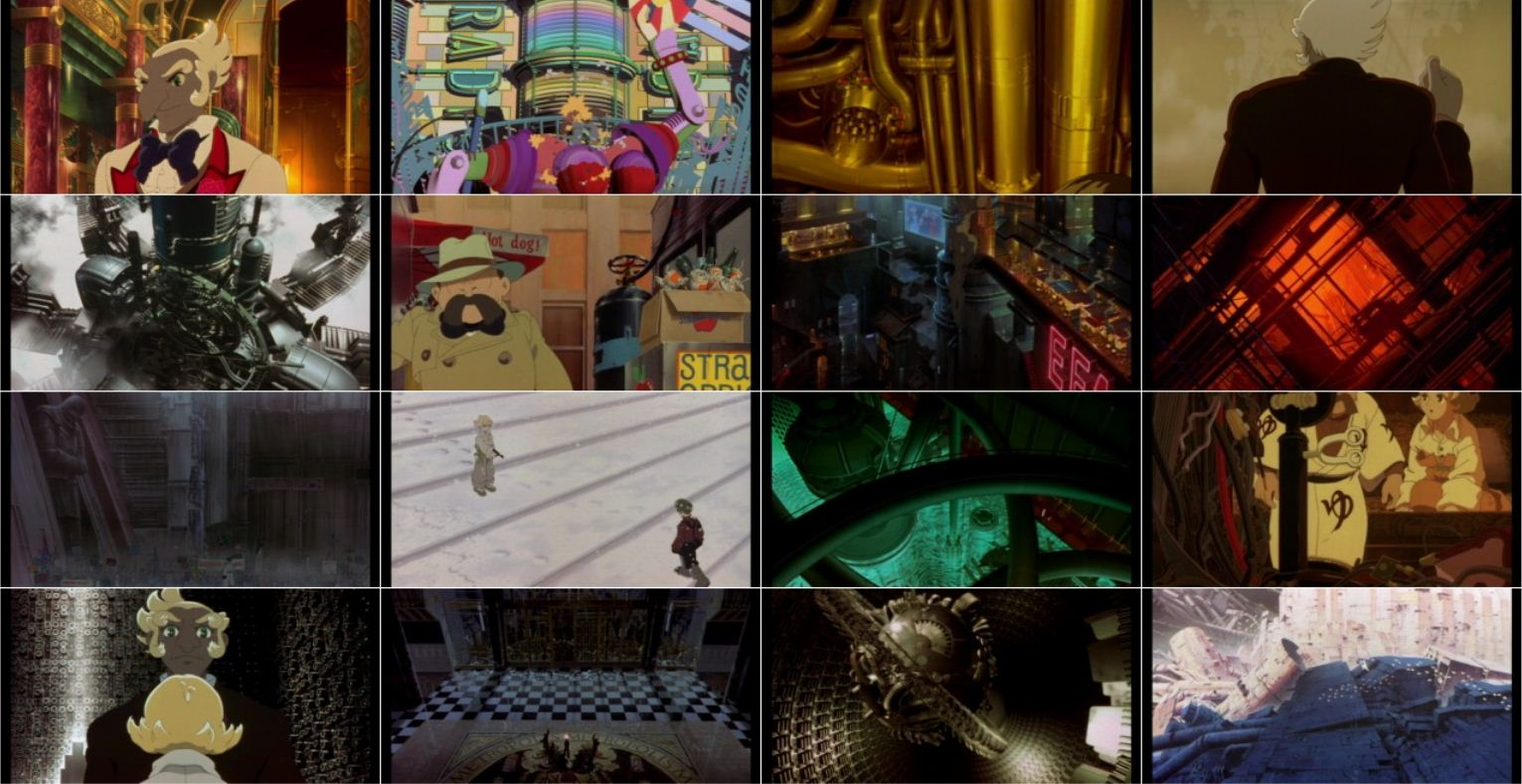 Metropolis 2 دانلود دوبله فارسی انیمیشن متروپلیس