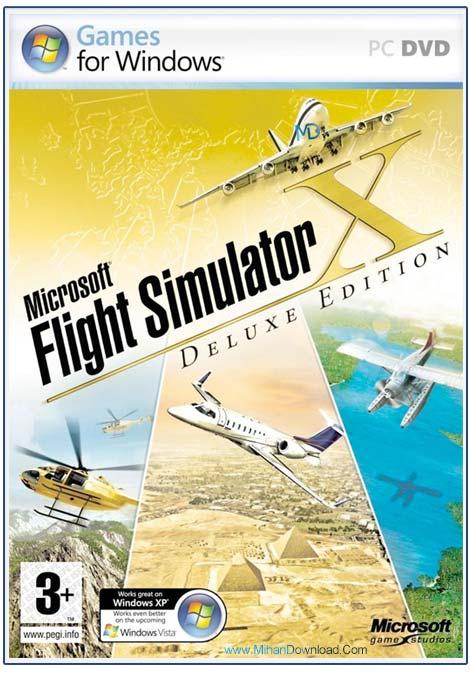 MicroSoft Flight Simulator X 1 دانلود بازی شبیه ساز پرواز MicroSoft Flight Simulator X برای کامپیوتر
