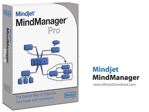 Mindjet MindManager نرم افزار سازماندهی مطالب و مدیریت پروژه ها Mindjet MindManager 14 2 321