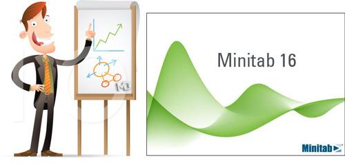 Minitab دانلود نرم افزار تخصصی آمار و کنترل کیفیت مینی تب Minitab v16 2 4 4