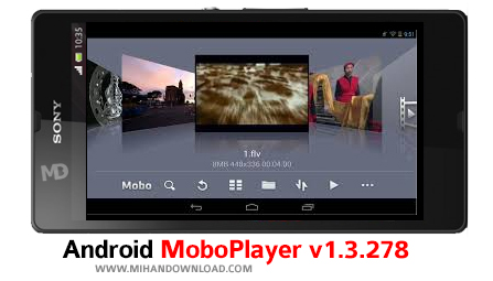 MoboPlayer v1.3 دانلود نرم افزار MoboPlayer برای آندروید