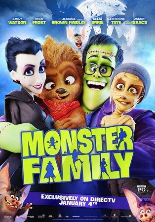 Monster Family 1 دانلود دوبله فارسی انیمیشن خانواده هیولا
