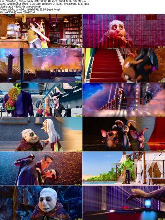 Monster Family 2 دانلود دوبله فارسی انیمیشن خانواده هیولا