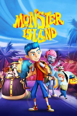 Monster Island 2017 1 دانلود انیمیشن Monster Island 2017