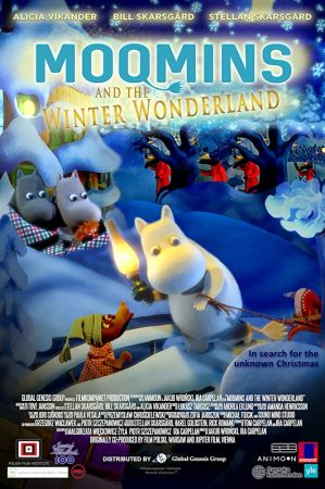 Moomins and the Winter Wonderland 1 دانلود انیمیشن Moomins And The Winter Wonderland 2017