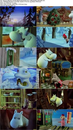 Moomins and the Winter Wonderland 2 دانلود انیمیشن Moomins And The Winter Wonderland 2017
