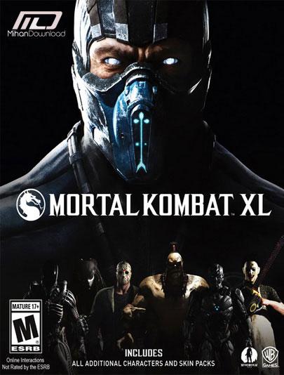 Mortal Kombat XL cracked pc دانلود بازی Mortal Kombat XL برای PC