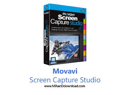 Movavi Screen Capture Studi دانلود نرم افزار فیلمبرداری از صفحه نمایش Movavi Screen Capture Studio v9.2.1