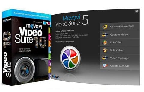 Movavi Video Suite دانلود نرم افزار ویرایش و تبدیل فرمت فیلم Movavi Video Suite 12.0.0