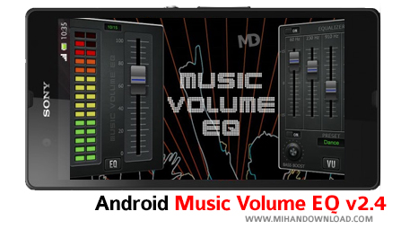 Music Volume EQ v2 دانلود نرم افزار Music Volume برای آندروید