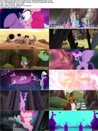 My Little Pony The Movie 2017 2 دانلود انیمیشن My Little Pony: The Movie 2017
