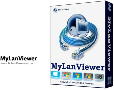 MyLanViewer نرم افزار مشاهده شبکه های محلی MyLanViewer 4 17 3