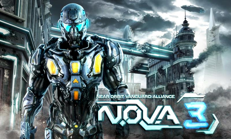 N.O.V.A icon دانلود بازی NOVA 3 بازی اشکن دشمنان فضا برای آندروید