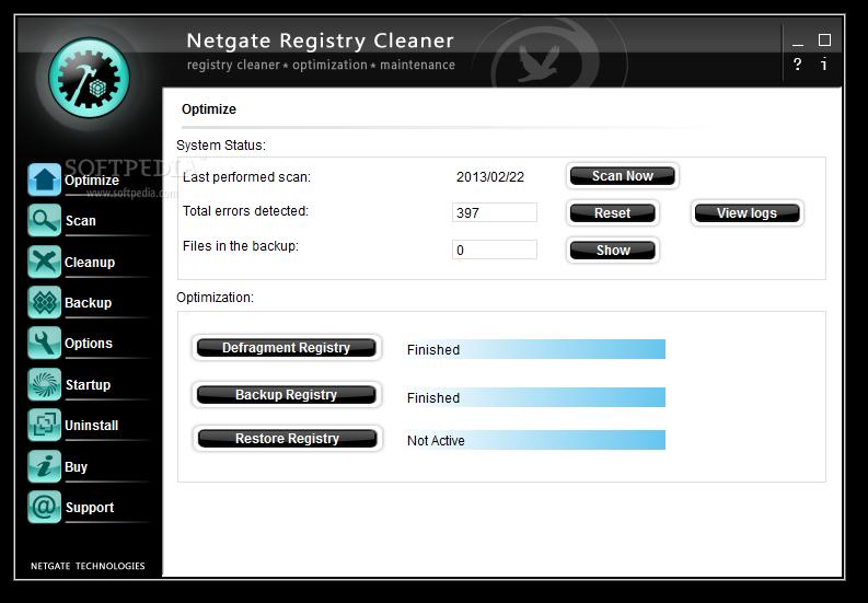 NETGATE Registry Cleaner 1 نرم افزار بهینه ساز ریجستری NETGATE Registry Cleaner 6 0 505 0