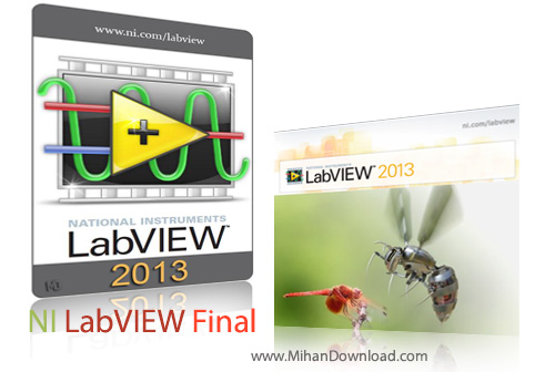 NI LabVIEW Final دانلود نرم افزار NI LabVIEW 2013 v13.0 Final
