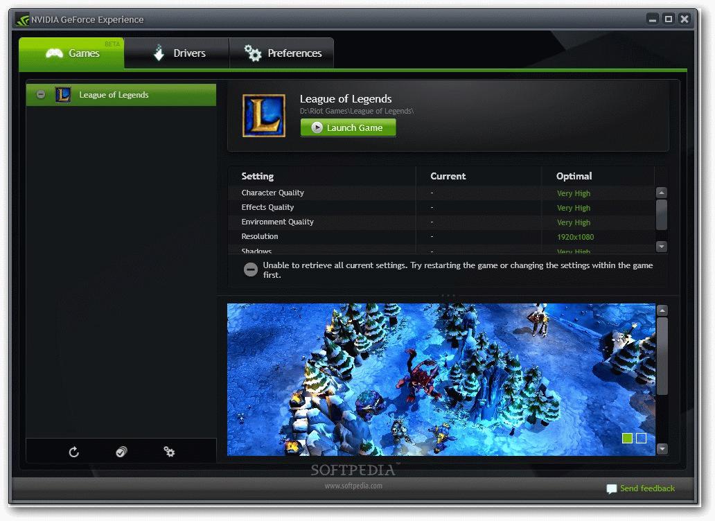 NVIDIA GeForce Experience 1 دانلود نرم افزار بهینه سازی بازی ها NVIDIA GeForce Experience