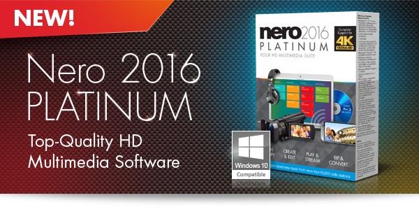 Ne دانلود نرم افزار نرو Nero 2017 Platinum 18.0.06100
