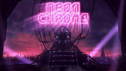 Neon Chrome icon دانلود Neon Chrome بازی نئون کروم برای آندروید