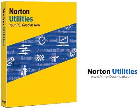 Norton Utilities دانلود نرم افزار برای بهینه سازی سرعت کامپیوتر Norton Utilities 16.0.2.39