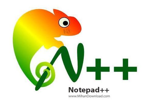 Notepad نرم افزار ویرایشکرساده متن Notepad++ 6 5 4 Final