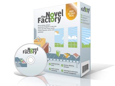 Novel Factory Software Box دانلود نرم افزار داستان نویسی The Novel Factory 1.22.0