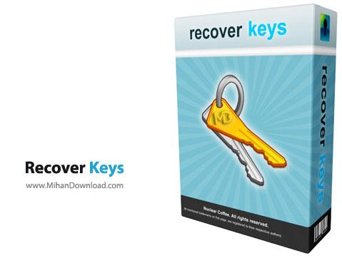 Nuclear Coffee Recover Keys نرم افزار بازیابی و ذخیره سازی شماره سریال نرم افزار ها Nuclear Coffee Recover Keys 8 0 3 109