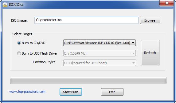 دانلود ISO2Disc 1.08 Final نرم افزار رایت فایل ایمج بر روی دی وی دی