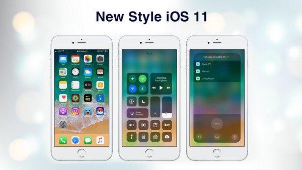 OS 11 iLauncher Phone 1 دانلود لانچر iOS 11 برای آندروید