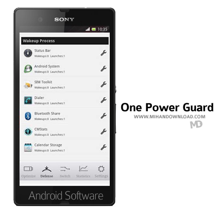 One Power Guard 4.5 نرم افزار مدیریت باتری One Power Guard برای آندروید