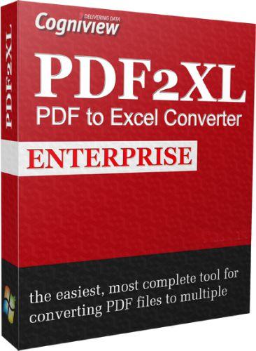 PDF2XL  دانلود CogniView PDF2XL Enterprise 6.0.2.313 نرم افزار تبدیل پی دی اف به اکسل