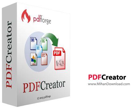 PDFCreator نرم افزار ایجاد فایل های پی دی اف PDFCreator 1 7 3 Final