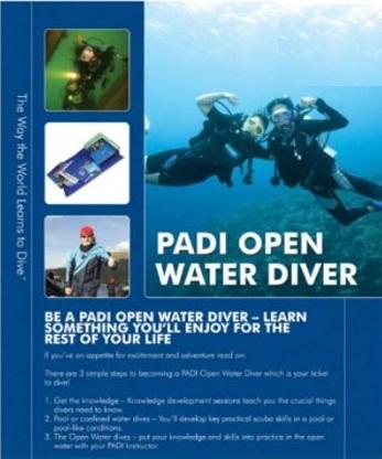 Padi open water diving دانلود فیلم آموزش قواصی در آب ها آزاد