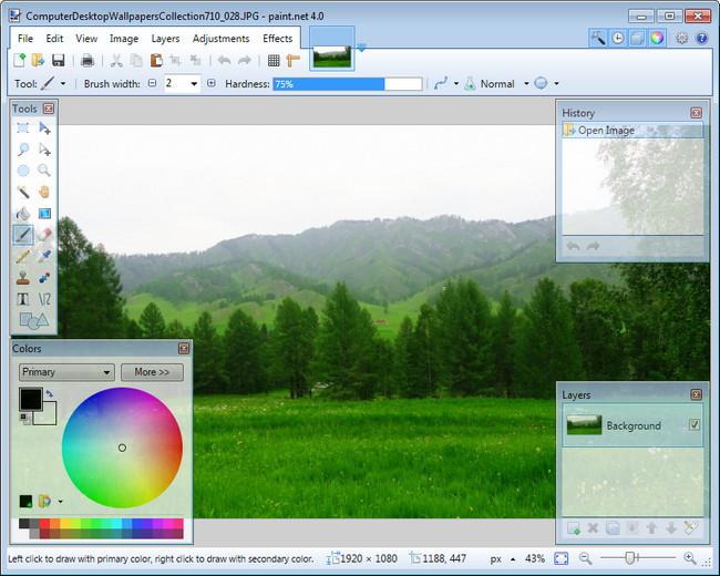 Paint.NET1  دانلود نرم افزار ویرایش عکس Paint.NET 4.0.9 Final