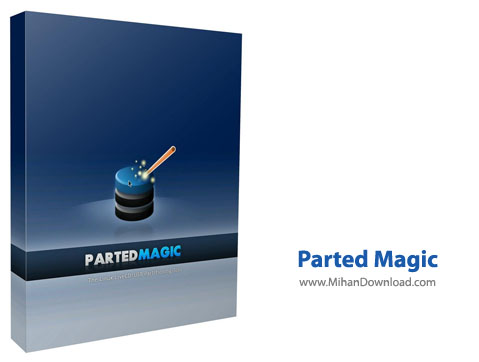 Parted Magic نرم افزار مدیریت هارد دیسک Parted Magic 2014 04 28 Final